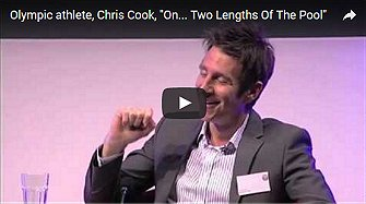 "Olympic athlete, Chris Cook, ""On... Two Lengths Of The Pool"""