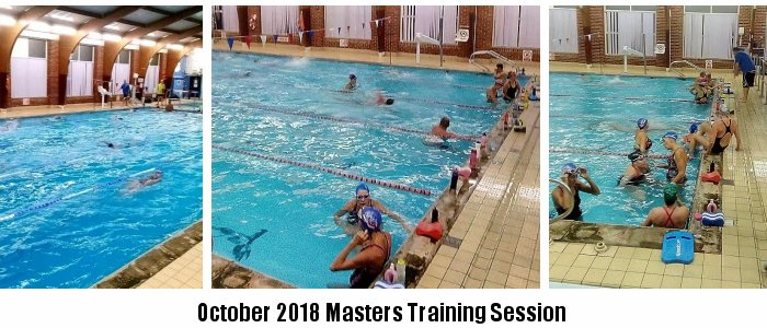 October 2018 Masters Training Session