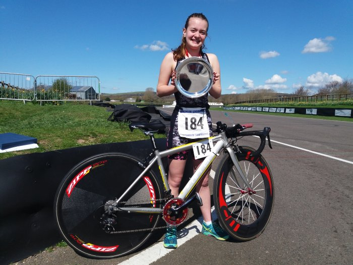 Emily Chambers Continues Her Duathlon Success at the Portsmouth Spring Duathlon