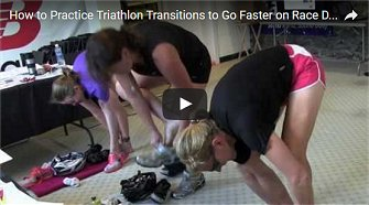 How to Practice Triathlon Transitions to Go Faster on Race Day