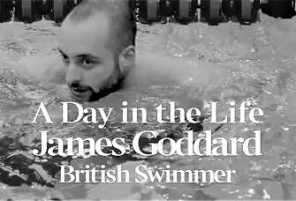 A Day in the Life of Team GB swimmer James Goddard