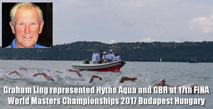 17th FINA World Masters Championships 2017 Budapest Hungary Graham Ling represented Hythe Aqua and GBR at these Championships which were held in August.