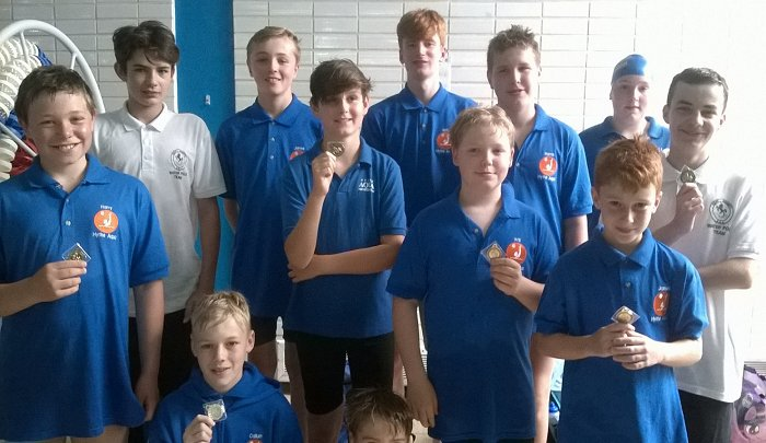 HYTHE'S HAT TRICK AT 2018 KENT WATER POLO FESTIVAL