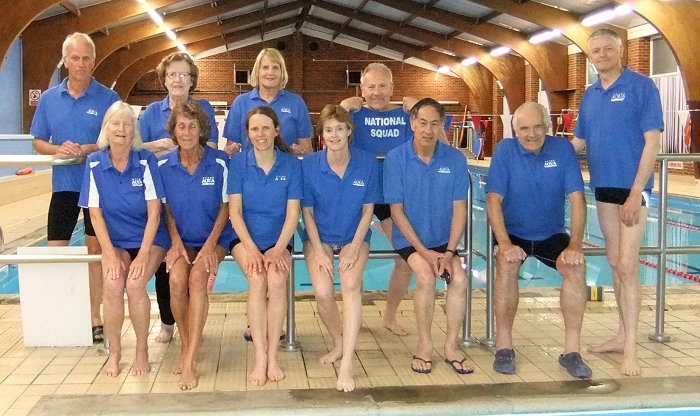 Hythe Aqua Masters travelled to the Kent Masters Swimming Championships recently with a slightly larger team than in 2017