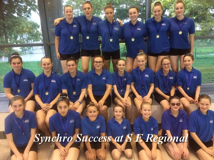 Synchro Success at S E Regional 22nd September 2018