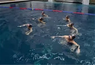 Synchronized Swimming with Sean Gregory