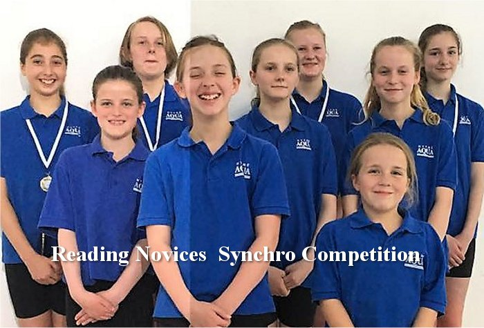 Excellent Synchro Results from the 2017 Reading Novices Competition Official Results from Reading Novices competition