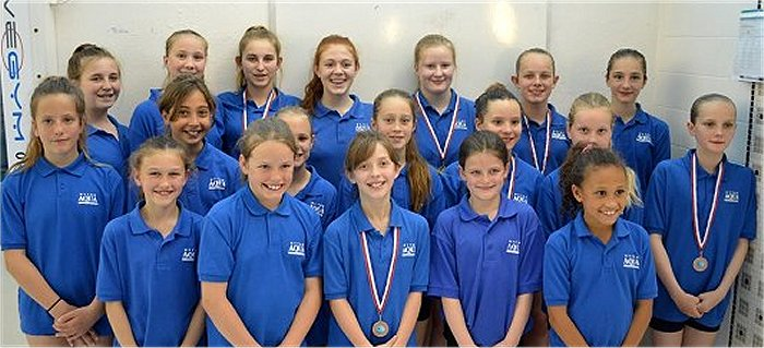 Hythe Aqua SC – Synchronised Swimming Success